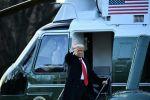 ترامب يغادر الأبيض