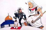 الرسام البرازيلي كارلوس لاتوف يرسم أحداث الأقصى في كاريكاتير جديد