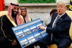 """""""واشنطن بوست"""": ترامب يختار إعطاء هدية لمحمد بن سلمان ويضع سابقة جديدة خطيرة"""