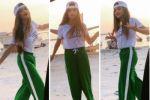 فيديو| الفنانة البحرينية حلا الترك تؤدي تحدي رقصة 'كيكي' الشهيرة