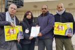 تسليم مذكرة للصليب الأحمر بشأن وضع الأسير الصحفي محمد القيق