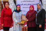 تكريم السيدة عدالة أبو ستة أبو مدين رئيس جمعية الحق في الحياة