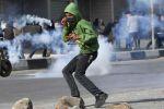 اصابه خطيرة خلال مواجهات مع جيش الاحتلال في كفر عقب