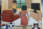 'دقدوق لا تزعج أبوك':اصدار جديد للأطفال للكاتبة فدا سمير أبو كف