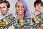 أحدهم كسب 15 مليون دولار .. مشاهير جنوا الملايين من يوتيوب عام 2016