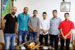وفد فريق حكاية وطن الشبابي يزور بلدية اتحاد العام للمركز الثقافية