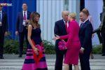 شاهد :ترامب 'ضحية امرأتين' في بولندا