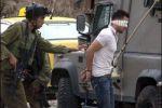 الاحتلال يعتقل ثلاثة مواطنين شرق نابلس