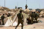 الاحتلال يهدم قرية كنعان للمرة الثالثة
