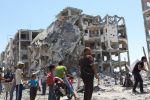 بيوت غزة المدمرة تتحول إلى مزارات