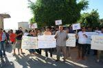 بمشاركة متطوعون دوليين الاغاثة الزراعية تنظم مسيرة شعبية لمقاطعة البضائع الاسرائيلة في سلفيت