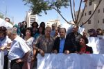 النائب الطيبي يشارك في مظاهرة ضد قتل النساء في رام الله