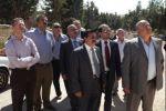 الجامعة العربية الأمريكية تستقبل رئيس مجلس إدارتها وتتبادل التهاني بالعيد
