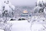 منخفض قسطينا يحمل الثلوج الى القدس والمدن الجبلية في فلسطين خلال الأيام القادمة