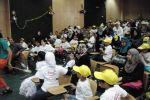 شركةُ المشروباتِ الوطنية كوكاكولا/كابي تجهز مكتبة الأطفالٍ  في مستشفى