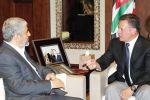 خلال لقائه عبد الله الثاني.. مشعل يؤكد الحرص على تنمية العلاقة مع الأردن في جميع المجالات