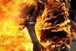 مغربي يحرق نفسه بسبب الأضحية