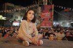 صور من أجواء الفرح تعم مدينة رام الله تزامنا مع رفع العلم الفلسطيني في افتتاح اولمبياد لندن