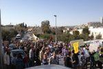 اعتصام في بيت صفافا رفضاً لشارع رقم '4' الاستيطاني