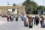 غزة: معبر رفح يعمل غداً الأحد لمغادرة المعتمرين فقط