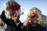 مجهولون يطلقون النار على معتصمين في القاهرة ويصيبون 9 أشخاص