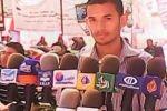 رئيس شباب فلسطين ابوجامع يفشل بتسلم مهامه من رئيس دولة فلسطين محمود عباس