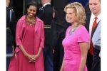 في سباق الأناقة الأمريكيّة: ميشيل أوباما تفوز على آن رومني
