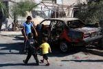 مستوطنون يحرقون مركبتين في دير جرير برام الله