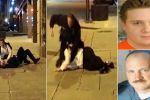 فيديو مروع .. شرطي أمريكي يطلق النار على عريس ليلة زفافه