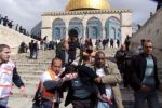 مجلس قيادة التجمع يدين الهجمات الإسرائيلية لاقتحام المسجد الأقصى