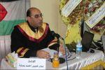 جامعة الأزهر بغزة تمنح درجة الماجستير للباحث الاقتصادي نادر سمارة