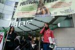 اعتصام في لندن تضامنا مع الأسرى المضربين