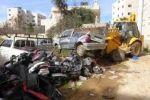 الشرطة تضبط 30 مركبة غير قانونية  خلال حملة امنية في بلدة قصرة