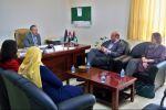 الجامعة العربية الامريكية تستقبل وفدا مشترك من وزارة العمل و GIZ الألمانية