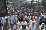 مسيرة في عرابة تضامنا مع الأسرى المضربين