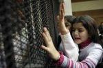 طلبة مدارس جنين يعتصمون تضامنا مع الأسرى