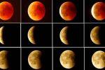 'القمر الدموي' يبهر مراقبي النجوم في أطول خسوف في القرن 21
