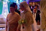 زفاف أسطوري لولي العهد الماليزي على 'حسناء سويدية'