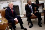 في أول لقاء .. أوباما يتعهد لترامب بمساعدته على النجاح