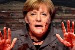 بعد هجوم برلين.. ميركل 'الدموية'