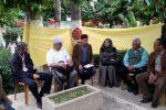 ندوة ثقافية في مكتبة بلدية نابلس على هامش معرض الكتاب