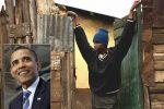 أخو باراك أوباما يعيش في حي من الصفيح بكينيا