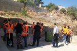 يوم عمل تطوعي لمتطوعي دفاع مدني المتحدة في جنين