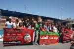 الشبيبة الشيوعية تقدم ألف حقيبة مدرسية لغزة بالتعاون مع الاغاثة الزراعية