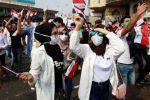 مظاهرات العراق: آلاف يكسرون حظر التجول في العاصمة بغداد، ومقتل خمسة بينهم فتاة مع استمرار الاحتجاجات