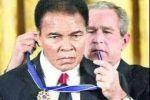 مؤسسة امريكية تمنح محمد علي كلاي ميدالية الحرية