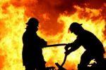 حريق هائل في عشرات الدونمات غرب الخليل