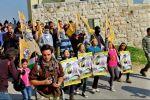 إصابة خمسة واعتقال ثلاثة جرّاء قمع الاحتلال مسيرة النبي صالح