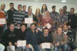الدفاع المدني يخرج دورة في علوم الدفاع المدني لموظفي شركة يونيبال في رام الله