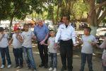 الشرطة تقيم مهرجانا ترفيهيا لطلاب مدرسة سيرا للتعليم الخاص في أريحا